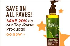 ONE WEEK ONLY! Our most popular products are now 20% off!