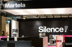 At Stockholm Furniture Fair, Martela presents its vision for future workplaces. Martela Silence is a new concept for more effective offices – with the opportunity to measure occupancy. Stockholm, Exhibitions, Felt, Furniture, Felting, Feltro, Home Furnishings, Tropical Furniture, Felt Crafts