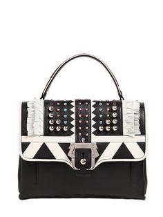 e40f74874c PAULA CADEMARTORI Petite Faye Studded Leather Bag W Fringe