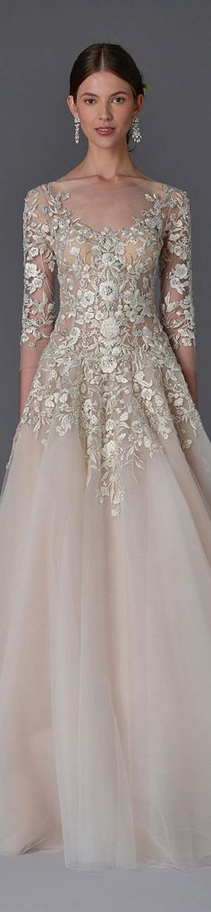 ravishing  wedding dresses designer ellie saab monique lhuillier 2016