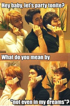 Who dares to turn down Super Junior? I got tantrums because of this wahaha! XD