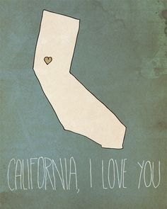 i should feel this way, because I grew up there...but I am glad california is in my past, not my future.