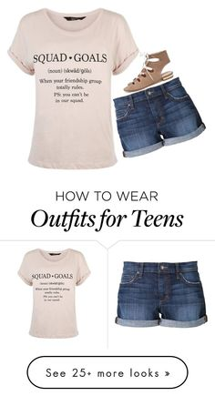 """""""•I love being noticed• ☺️"""" by simplylovelyruru on Polyvore featuring New Look and Joe's Jeans"""