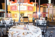 Disney Fairy Tale Wedding reception on Sunset Boulevard at Disney's Hollywood Studios