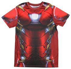 Marvel+Comics+Costumes Products : Marvel Comics Captain America Civil War I Am Iron Man Men's Costume T-Shirt