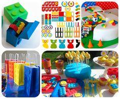 Ideas caseras para una fiesta infantil de Lego