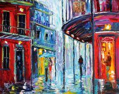 Karen Tarlton Original oil painting New Orleans by Karensfineart