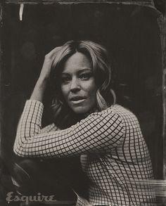 Sundance 2014 Old-Fashioned Portraits - Sundance 2014 Victoria Will Tintypes - Elizabeth Banks