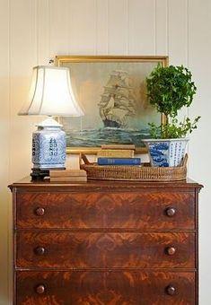 Antique chest and vignette