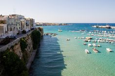 Otranto / 15 Charming Small Towns You Need To Visit In Italy Places Around The World, Oh The Places You'll Go, Places To Travel, Places To Visit, Around The Worlds, Amalfi, Costa Leste, Wanderlust, Puglia Italy