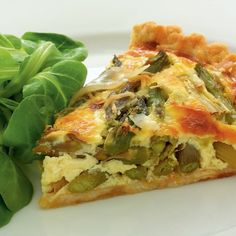 Delia's Asparagus and Cheese Tart recipe. Just to make the very most of the English asparagus during its very short season, I cook it every which way, hence this very simple but sublime tart. Cheese Quiche, Cheese Tarts, Cheddar, Tart Recipes, Cheese Recipes, Souffle Recipes, Egg Recipes, Sauce Recipes, Recipes