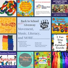 Back to School 2018 Giveaway This is FULL of awesome things! Movement Activities, Music Activities, Alphabet Sounds, Music And Movement, Beginning Of The School Year, Scholarships For College, Teacher Blogs, Elementary Music, Music Therapy