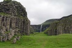 "Dverghamrar ""elf cliffs', Iceland"