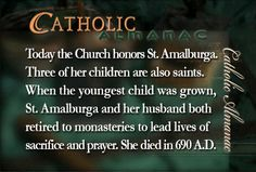 #SaintAmalburga #prayforus