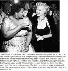 Great story from Ella Fitzgerald.