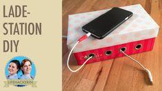 Ladestation für Handy, etc. selber machen | Kabelsalat verstecken