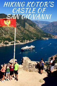 #Europe #Kotor #Montenegro #Hiking #Castle #SanGiovanni