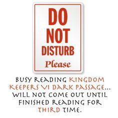 Shhhhh!!! I'm re-reading here!!!