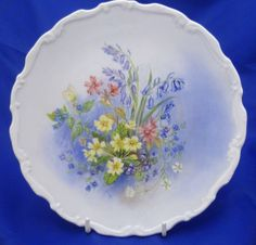 A Royal Albert Shakespeares Flowers Collector Plate Primrose Beds