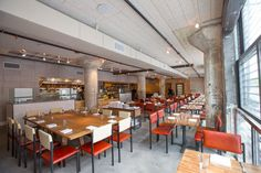 The Factory Kitchen, a Casual Trattoria in the Arts District - Eater Inside - Eater LA