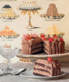 Serano Cake recipe in Greek Greek Sweets, Greek Desserts, Party Desserts, Greek Recipes, Desert Recipes, Sweets Recipes, Cake Recipes, Cake Cookies, Cupcake Cakes