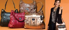 luxurious leather bags - 1/2 price when you host a party!!!