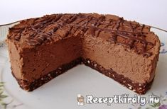 Sweet Desserts, No Bake Desserts, Sweet Recipes, Delicious Desserts, Dessert Recipes, Baking Recipes, Cookie Recipes, Hungarian Desserts, Czech Recipes