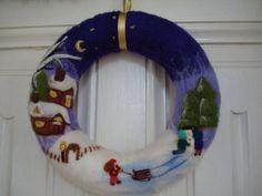 6a20dc95fb6146469244d8560dbebaaf--felt-christmas-christmas-wreaths.jpg (570×428)