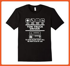 Mens Tow Truck Driver Me How To Do My Job Shirts 2XL Black - Careers professions shirts (*Partner-Link)