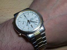 seiko 7t32 7c60 black and white to go my watches pinterest rh pinterest com Review Seiko 7T32 Vintage Seiko Quartz Watches