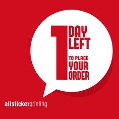 Yes! It's One More Day Left To Grab Our Year End Sale! Quick! Place Your Order Now!