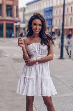 Biele šaty Silvia