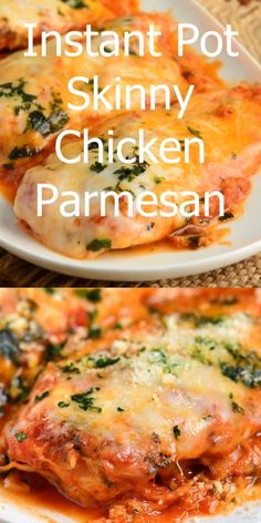 Instant Pot Chicken Parmesan Chicken Parmesan is a classic Italian dish that everyone loves. This recipe for Chicken Parmesan is easily made in an Instant Pot in about 20 minutes and all you need is a few simple ingredients. Chicken Parmesan Recipes, Easy Chicken Recipes, Skinny Chicken Parmesan, Ww Chicken Parmesan Recipe, Simple Chicken Dishes, Italian Chicken Bake, Chicken Parmesan Slow Cooker, Instantpot Chicken Recipes, Grilled Chicken Parmesan