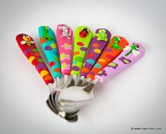 Couverts - Art de la table sur Vlam fimo, création d'objets en pâte fimo, bijoux, décoration, arts de la table