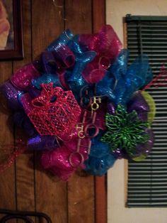 Wreath I made for my Grandmothers door!