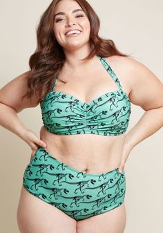 ddf031dee7aa4 On a Tide Note Swimsuit Bottom in Dinos