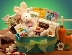 Easter baskets gift baskets chocolate free shipping no sales find this pin and more on easter gift baskets fruit chocolate dallas tx houston free worldwide shipping negle Images