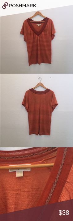 Michael Michael Kors v neck top New without tag MICHAEL Michael Kors Tops