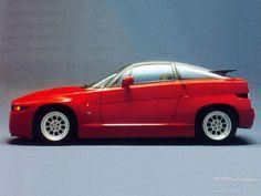Description, history and facts about Alfa Romeo SZ. List tags and cars of Model Alfa Romeo SZ Maserati, Ferrari, Retro Cars, Vintage Cars, Alfa Romeo Cars, Ex Machina, Car Posters, Japanese Cars, Sport Cars