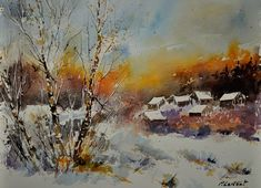 watercolor 212102 - Pol Ledent's paintings