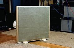 Do-it-Yourself Acoustical Treatment: How to build a gobo and why would you want to?By Tim Dittmar | Audio Undone