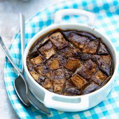 Découvrez la recette du clafoutis au chocolat et aux poires