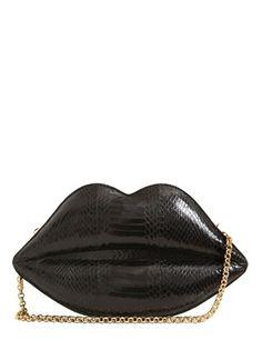 Large Lip  Shoulder Bag
