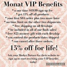 The benefits of becoming my VIP. This month join as my VIP and you will not only get one FREE product but I will throw in a second FREE product. Contact me for details. Let's get you started on your healthy hair care journey