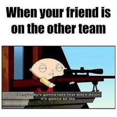 Friend is on the other team couple memes, funny jokes, hilarious, overwatch Uno Memes, Funny Gaming Memes, Gamer Humor, Stupid Funny Memes, Funny Relatable Memes, Funny Posts, Hilarious, Funny Stuff, Video Games Funny