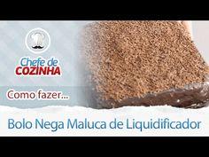 Receita Bolo Nega Maluca em 2 minutos - Blog Das Receitas