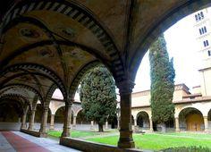 Santa Maria Novella - Church and Cloisters - Florence. Green Cloister.