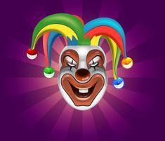 Create a Clown Face in Adobe Illustrator Tutorial