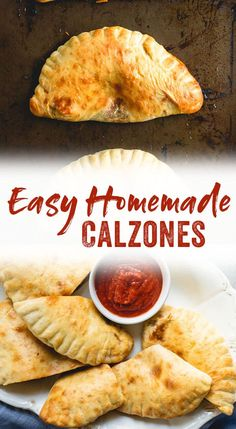 Look Over This This easy calzone recipe features a homemade pizza dough and a spinach, mushroom, and two-cheese filling. It's the ultimate weekend dinner! The post Simple Calzone appeared first on MIkas Recipes . Pizza Recipes, Cooking Recipes, Easy Recipes, Easy Calzone Recipes, Sandwich Recipes, Beef Recipes, Chicken Recipes, Dinner Recipes, Skillet Recipes