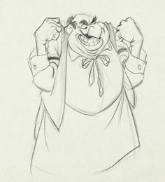 John Lounsbery Lady and the Tramp Tony Production Drawing Animation